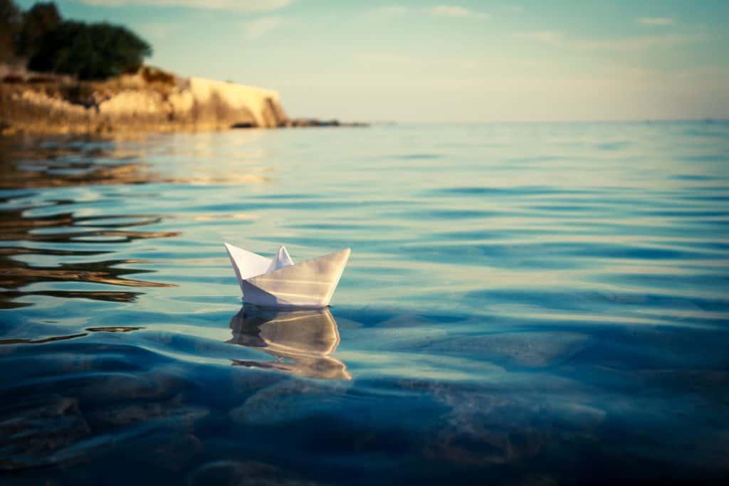 Kako napraviti brod od papira