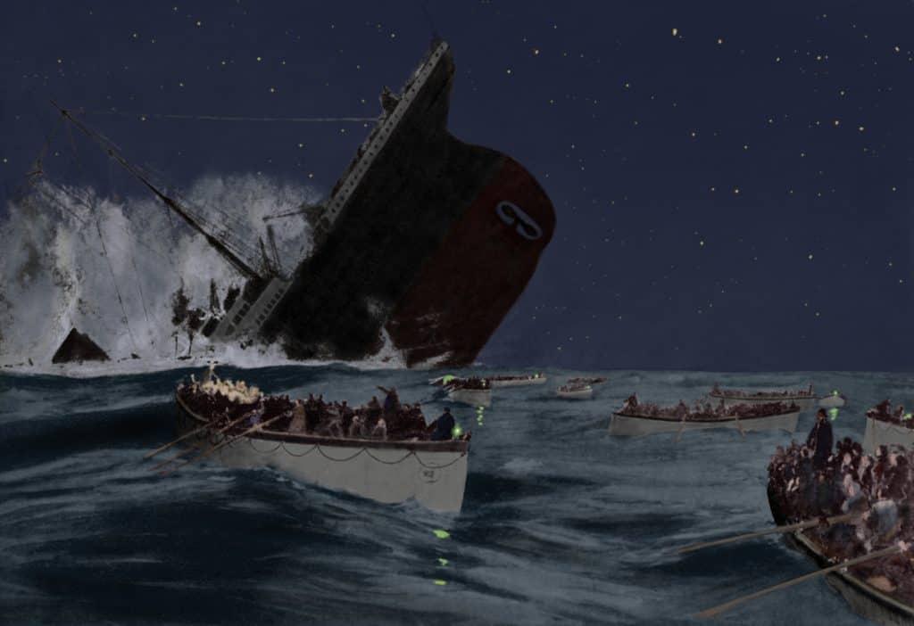 Gdje je potonuo titanik