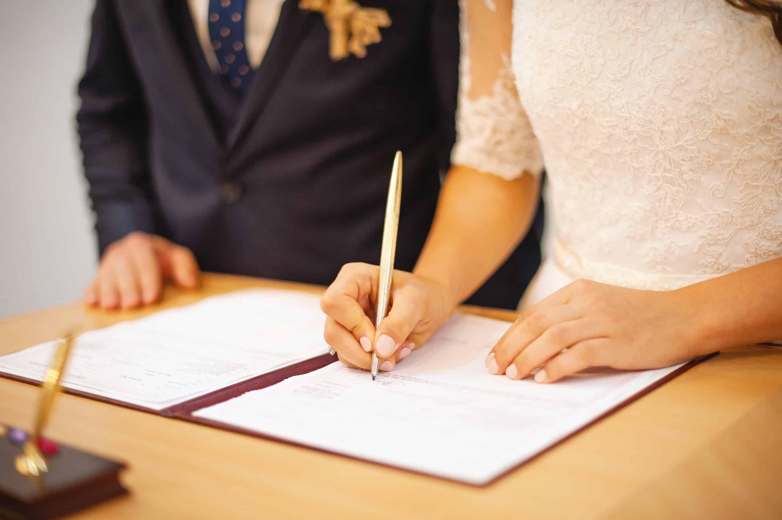 Vjenčanje kod matičara