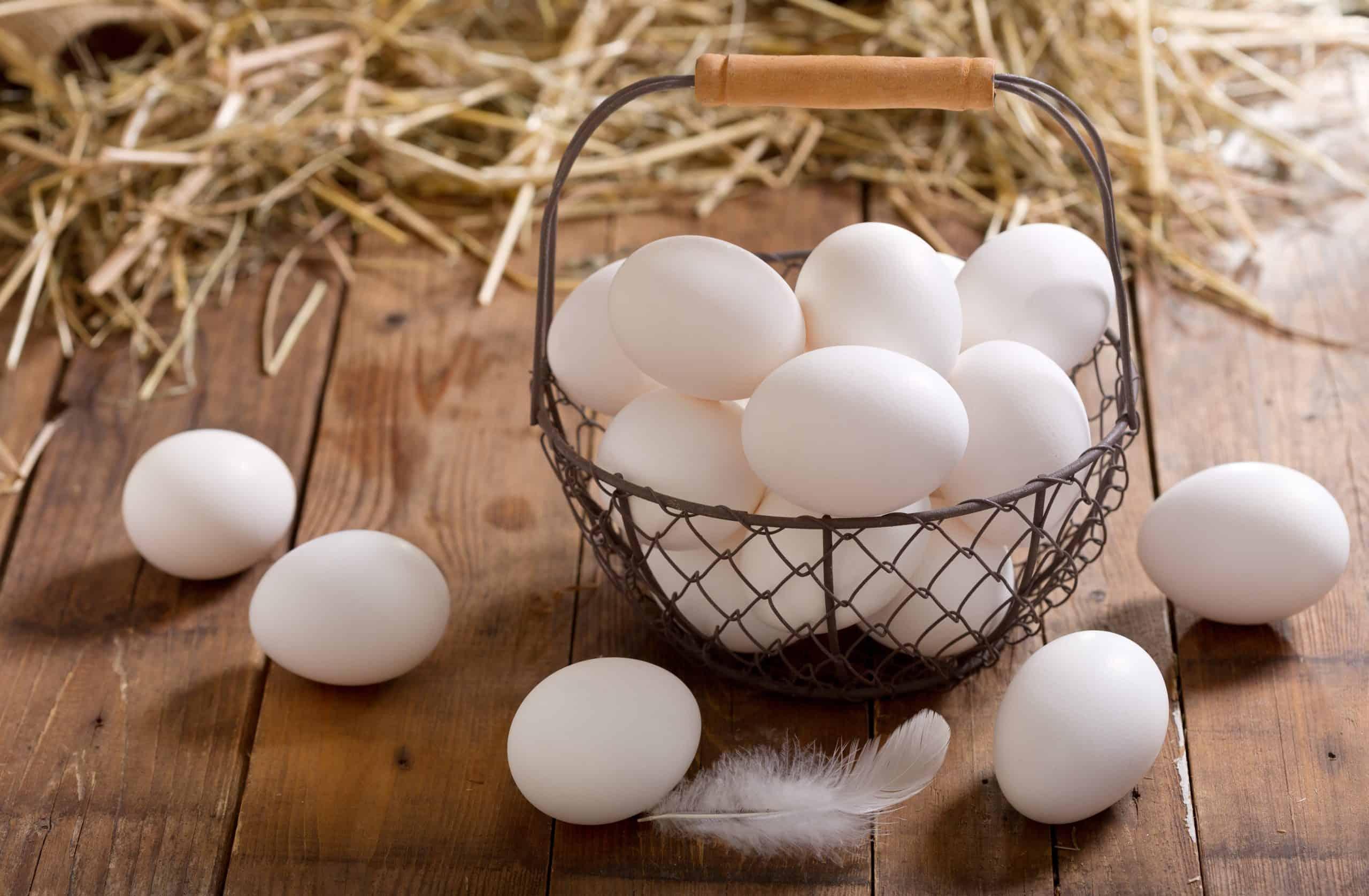 Kako izbijeliti jaja