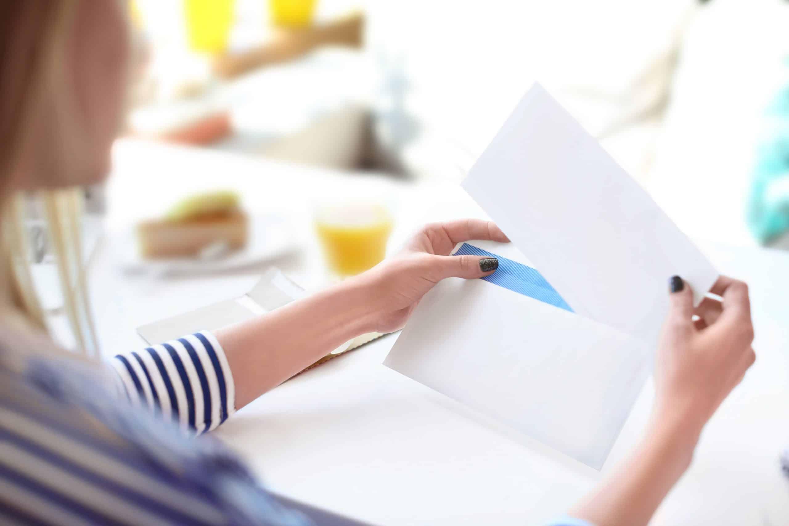 Kako napraviti kovertu
